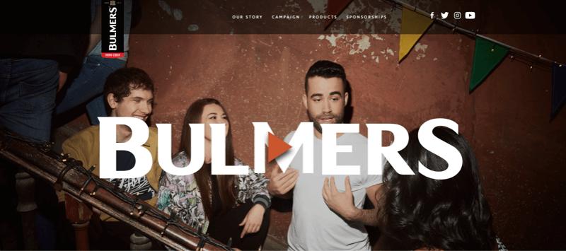 Bulmers header